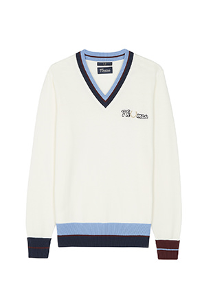 Thames V-Neck Jumper