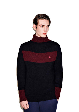 Nigel Cabourn Goal Keepers Roll Neck