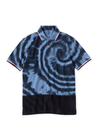 Tie Dye Fred Perry Shirt