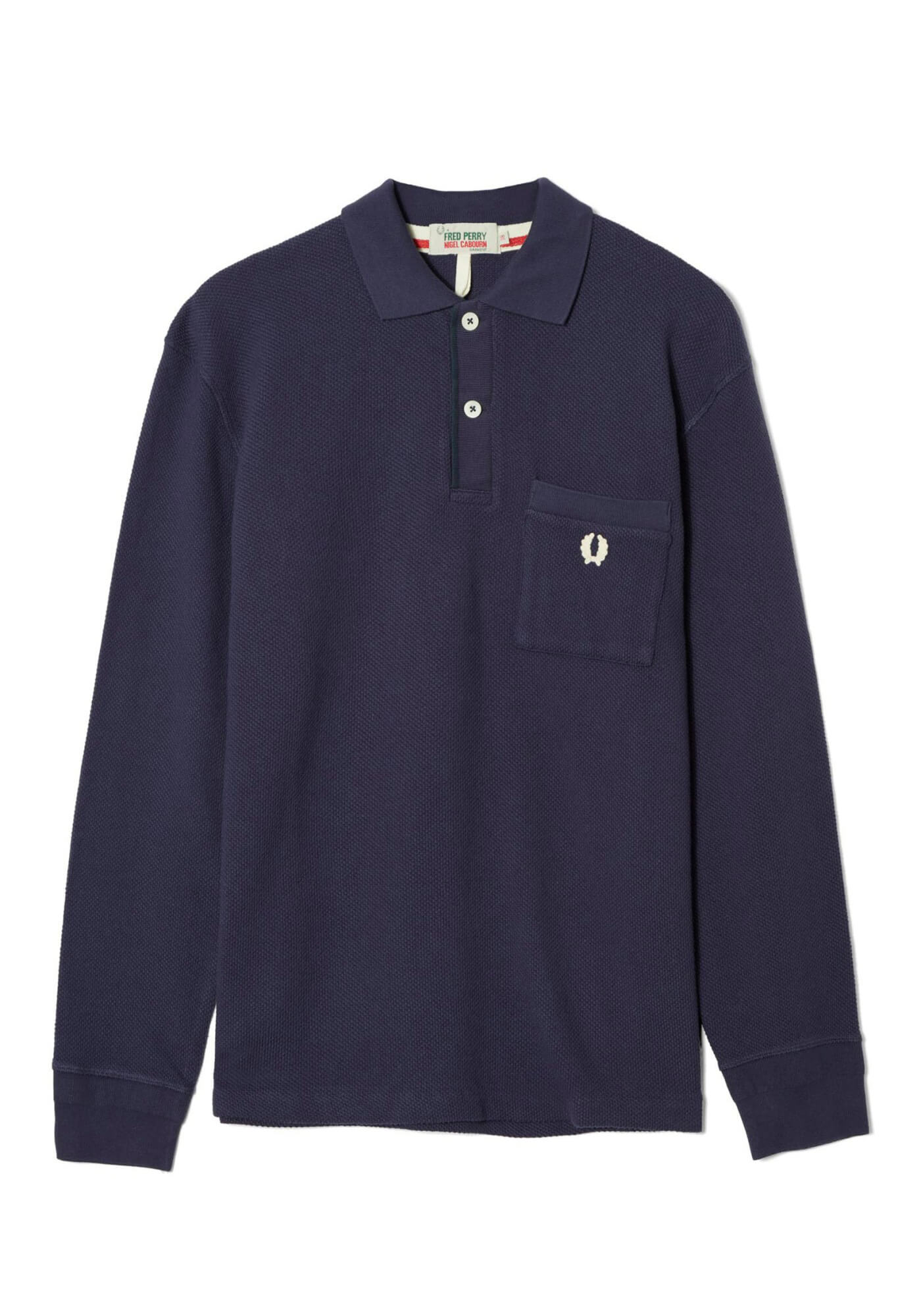 Nigel Cabourn L/S Training Pique Shirt