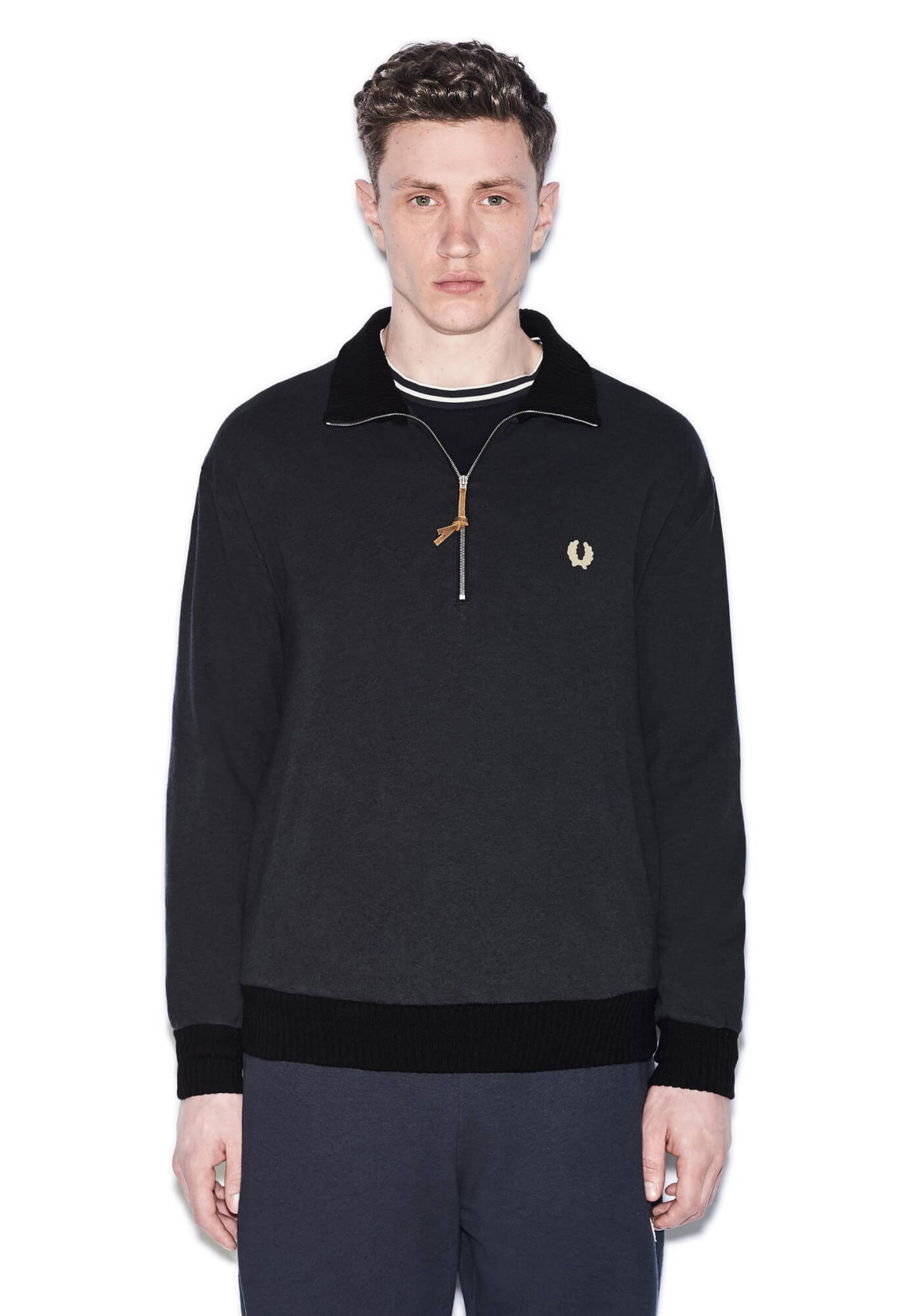 Nigel Cabourn Training Half-Zip Sweat