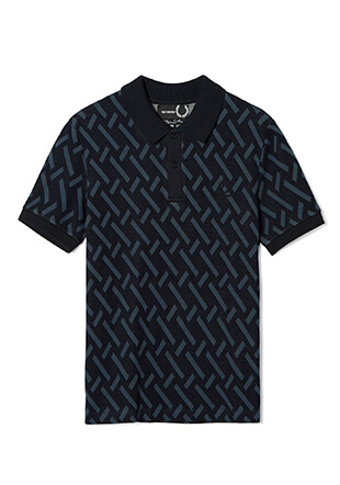 Raf Simons Abstract Jacquard Pique Shirt