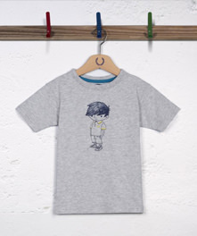 Little Fred Chalk Print T-Shirt