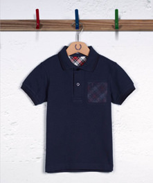 Needlepunch Pocket Polo Shirt