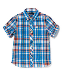 Poplin Madras Check Shirt