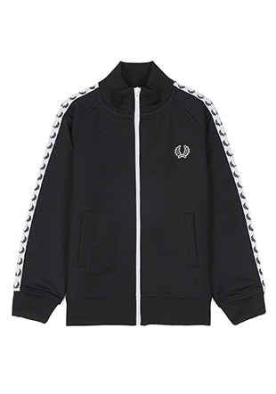 Kids Laurel Wreath Taped Track Jacket
