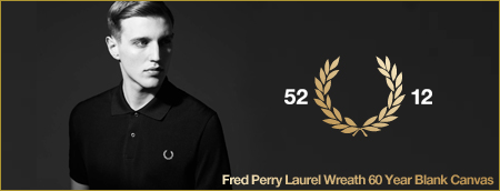 Fred Perry Laurel Wreath 60 Year Blank Canvas