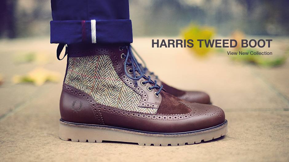 Harris Tweed Boot