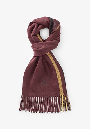 Tipped Woven Scarf