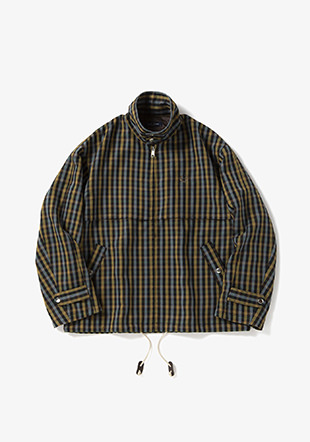 Textured Harrington Jacket