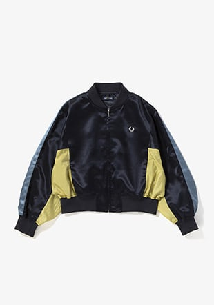 Panelled Bomber Jacket