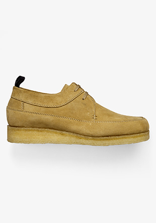 Padmore & Barnes Suede Willow Low