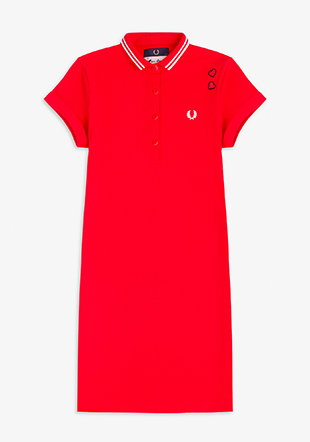 Amy Winehouse Fred Perry Shirt Dress