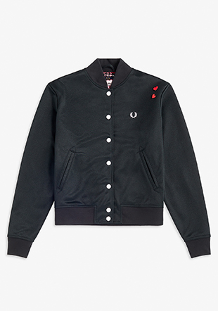 Amy Winehouse Laurel Wreath Bomber Jacket