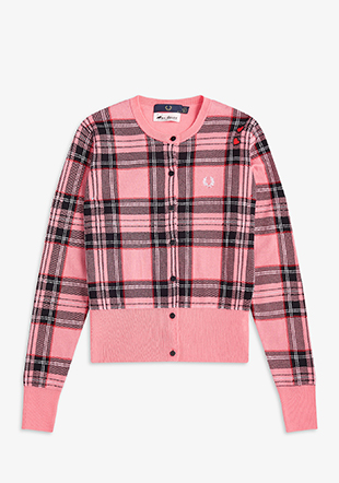 Amy Winehouse Tartan Cardigan
