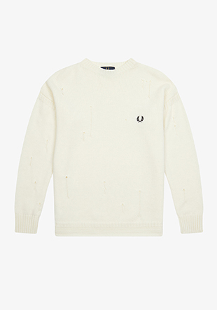 Casely Hayford Distressed Knit Jumper