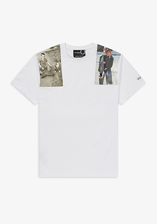 Raf Simons Shoulder Print T-Shirt