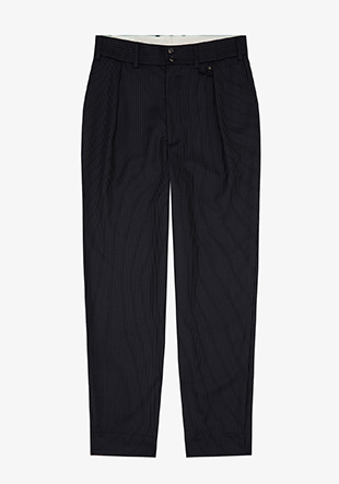 Casely Hayford Pinstripe Tailored Trousers