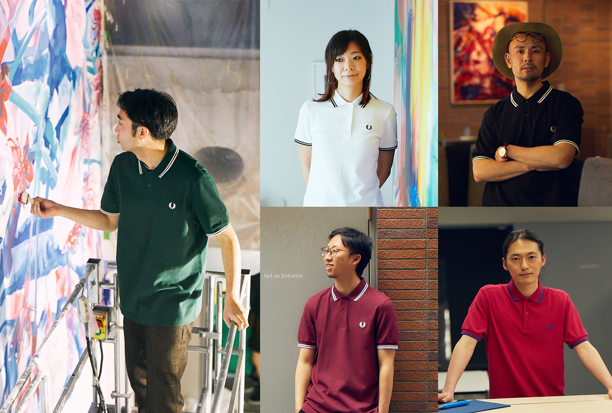 THE FRED PERRY SHIRT – M3600 × アートホテル – BnA_WALL
